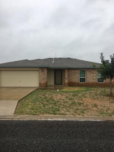 San Angelo Single Family Home For Sale: 1226 Johnny Lane