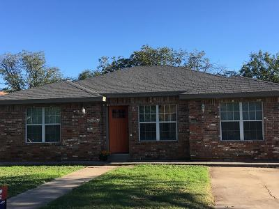 San Angelo Single Family Home For Sale: 2435 San Antonio St