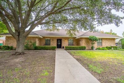 San Angelo Single Family Home For Sale: 5225 N Bentwood Dr