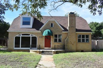Single Family Home For Sale: 209 N Bishop St