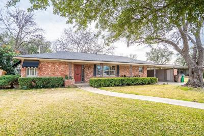San Angelo Single Family Home For Sale: 2715 W Twohig Ave