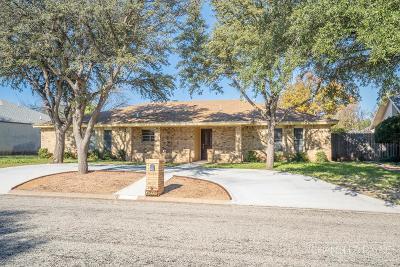 San Angelo Single Family Home For Sale: 3214 Briargrove Lane
