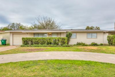 San Angelo TX Single Family Home For Sale: $109,900