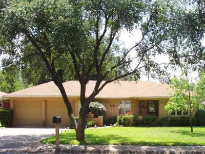 San Angelo TX Single Family Home For Sale: $172,000