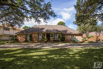 San Angelo Single Family Home For Sale: 5505 Woodbine Lane