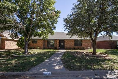 San Angelo TX Single Family Home For Sale: $195,000