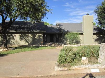 San Angelo TX Single Family Home For Sale: $190,000