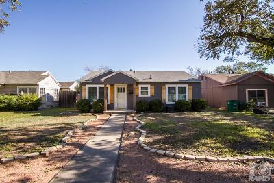 San Angelo TX Single Family Home For Sale: $139,000