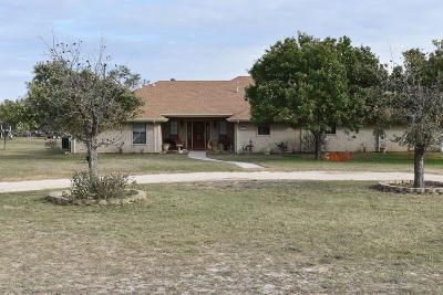 San Angelo Single Family Home For Sale: 15837 Fitzgerald Dr