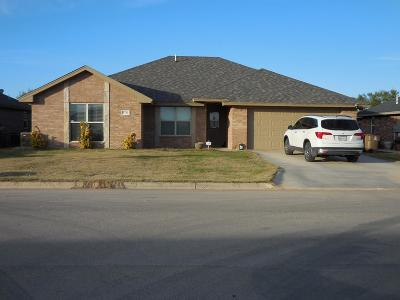 San Angelo TX Single Family Home For Sale: $235,000