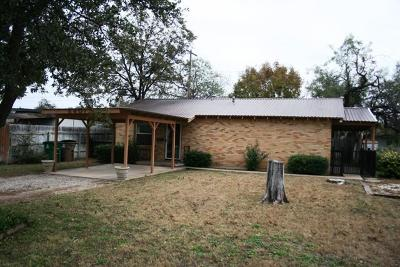 San Angelo TX Single Family Home For Sale: $82,900
