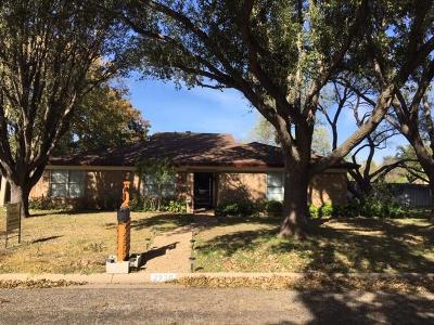 San Angelo, Wall, Christoval Rental For Rent: 2930 Sierra Circle