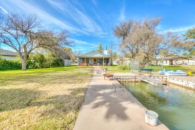 San Angelo Single Family Home For Sale: 1524 Loop Dr