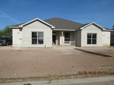 San Angelo Single Family Home For Sale: 4721 Muirfield Ave