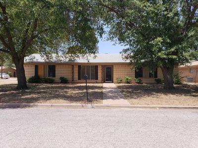 San Angelo, Wall, Christoval Rental For Rent: 3117 Bluebonnet Rd