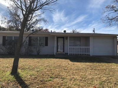 San Angelo, Wall, Christoval Rental For Rent: 2775 Notre Dame Ave