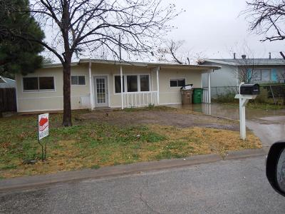 San Angelo Single Family Home For Sale: 2451 Greenwood St