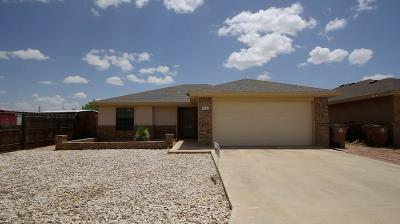 San Angelo TX Single Family Home For Sale: $168,000