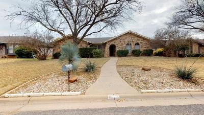 San Angelo Single Family Home For Sale: 3817 Tridens Tr