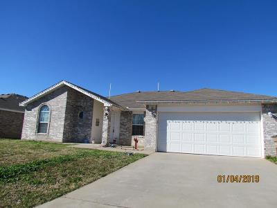 San Angelo TX Single Family Home For Sale: $174,500