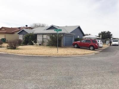 San Angelo TX Single Family Home For Sale: $169,900