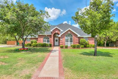 San Angelo Single Family Home For Sale: 1282 Gleneagles Dr