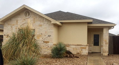 San Angelo, Wall, Christoval Rental For Rent: 4629 Southland Blvd