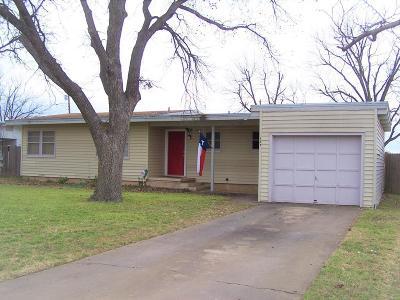 San Angelo Single Family Home For Sale: 127 Oakwood St