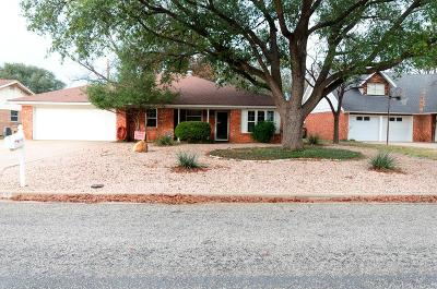 San Angelo Single Family Home For Sale: 3108 Oak Forest Dr