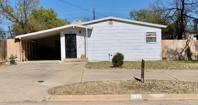 San Angelo Single Family Home For Sale: 812 E Harris Ave