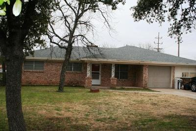 San Angelo Single Family Home For Sale: 701 Veck St