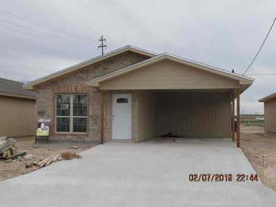 San Angelo Single Family Home For Sale: 629 Jones St
