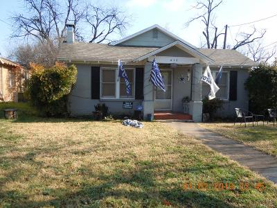 San Angelo Single Family Home For Sale: 412 S Harrison St