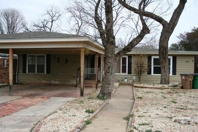 San Angelo Single Family Home For Sale: 2851 Colorado Ave