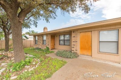 San Angelo Single Family Home For Sale: 18 E 42nd St