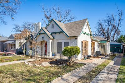 San Angelo Single Family Home For Sale: 1412 Mackenzie St