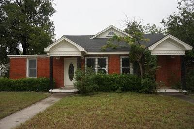 Single Family Home For Sale: 1851 W Concho Ave