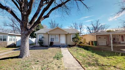 San Angelo Single Family Home For Sale: 1310 State St