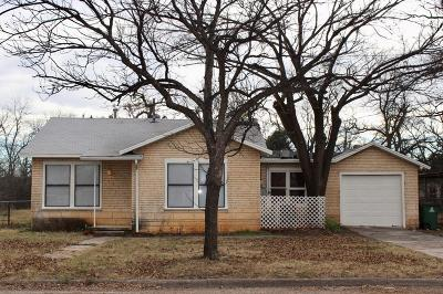 San Angelo Single Family Home For Sale: 71 E 37th St