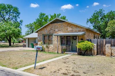 San Angelo Single Family Home For Sale: 1414 W Ave M