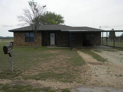 San Angelo TX Single Family Home For Sale: $110,000