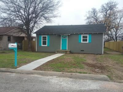 San Angelo TX Single Family Home For Sale: $79,000