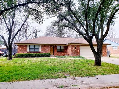 San Angelo Single Family Home For Sale: 229 Westwood Dr