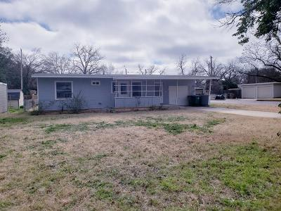 San Angelo Single Family Home For Sale: 2719 W Beauregard Ave