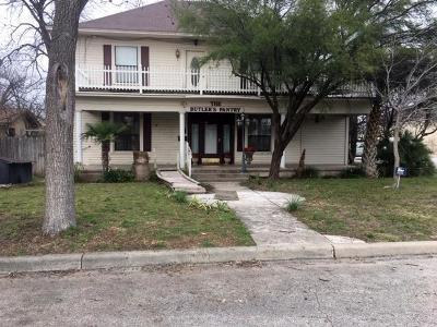 San Angelo Single Family Home For Sale: 402 W Ave D