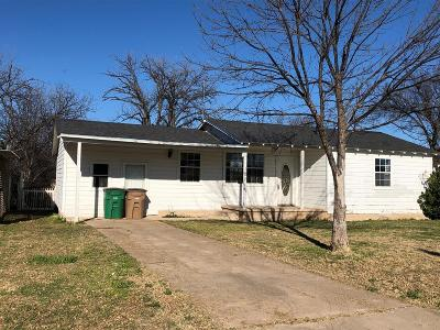 San Angelo Single Family Home For Sale: 120 W Riverside Ave