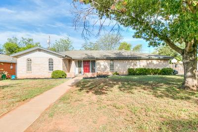 San Angelo Single Family Home For Sale: 265 Glenna Dr