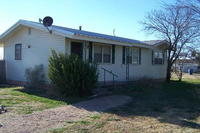 Robert Lee Single Family Home For Sale: 205 E 5th St