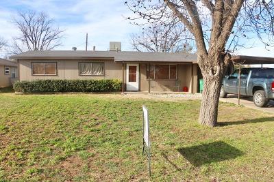 San Angelo TX Single Family Home For Sale: $118,000