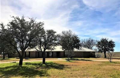 San Angelo Single Family Home For Sale: 2505 Fairview School Rd